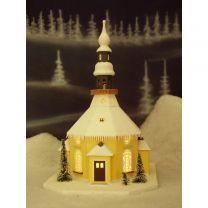 Erzgebirgisches Lichterhaus - Seiffener Kirche