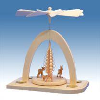 Pyramide mit 3 Rehkitzen
