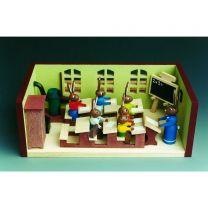 Miniaturstübchen - Hasenschule mit Lehrerin