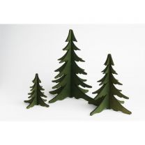 Holz-Steckbaum - grün