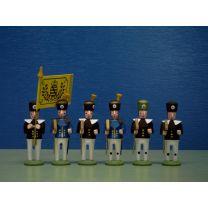 Seiffener Miniaturen - Bergaufzug - Hauer