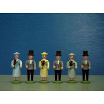 Seiffener Miniaturen - Brautzug