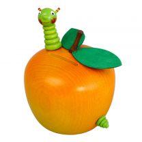 Spardose - Apfel mit Wurm