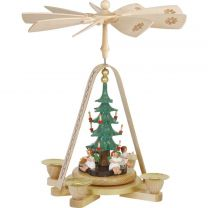 Pyramide - Engel mit Christbaum