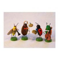 Frühlingskapelle - 4 verschiedene Käfer