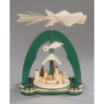 Pyramide, grün - Christi Geburt