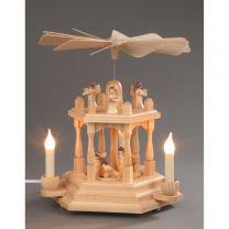 Pyramide, natur - Christi Geburt