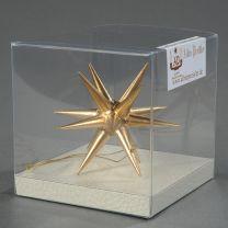 Christbaumschmuck - Weihnachtsstern, klein-gold