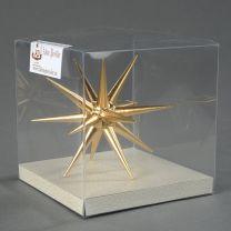 Christbaumschmuck - Weihnachtsstern, groß-gold