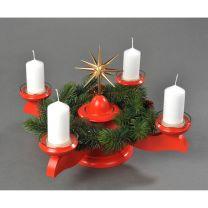 Adventsleuchter, rot - Weihnachtsstern