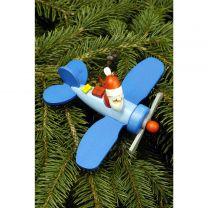 Baumbehang Weihnachtsmann im Flieger