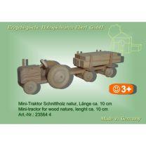 Mini-Traktor - Schnittholz