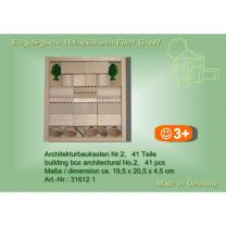Architekturbaukasten Nr. 2 - 41 Teile