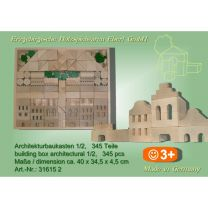 Architekturbaukasten Nr. 1/2 - 345 Teile