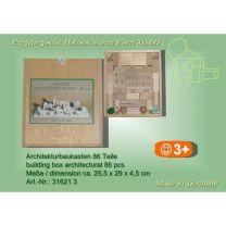 Architekturbaukasten - 86 Teile