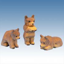 Braunbärengruppe 3 tlg.