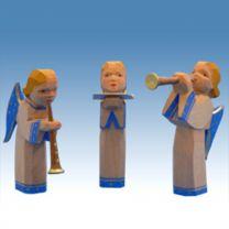Bestückung 3 Engel, blaue Flügel