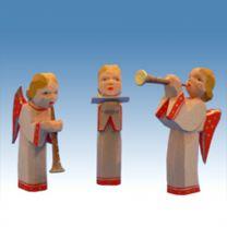 Bestückung 3 Engel, rote Flügel