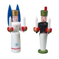 Engel und Bergmann - Miniatur