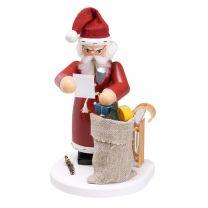 Räuchermann - Weihnachtsmann mit Geschenke