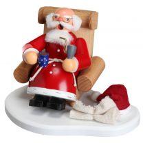 Räuchermann - Weihnachtsmann nach Bescherung