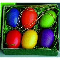 Behang - Ostereier, einfarbig