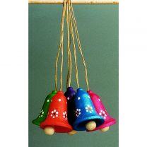 Behang - Glocken, klein-mehrfarbig