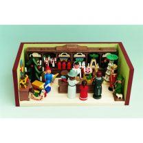 Miniaturstübchen - Erzgebirgischer Spielzeugladen