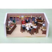 Miniaturstübchen - Captain`s Dinner