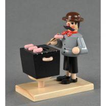 Räuchermann-Mini - Bratwurstverkäufer