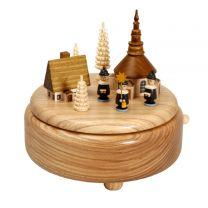 Spieldose - Seiffener Dorf mit Kurrende