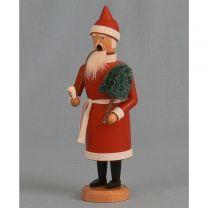 Räuchermann - Weihnachtsmann mit Baum