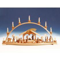 Schwibbogen Christi Geburt groß