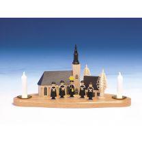 Kurrende Schneeberger Kirche auf Sockel