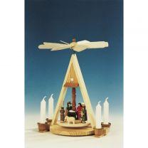 Pyramide mit Christi Geburt