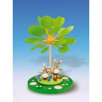 Wärmespiel m. Tl. Jahreszeitenbaum Frühlingserwachen
