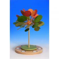Wärmespiel m. Tl. Jahreszeitenbaum Herbstzeitlose