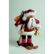 Räuchermann - Weihnachtsmann auf Skier