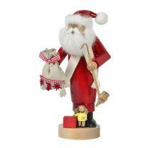 Räuchermann - Weihnachtsmann mit Puppe