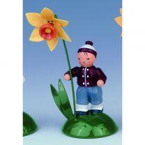 Blumenkind - Junge mit Narzisse