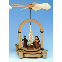 Pyramide - Christi Geburt natur