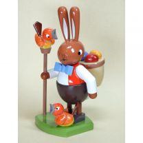 Hase - Eierhändler - Höhe 16 cm