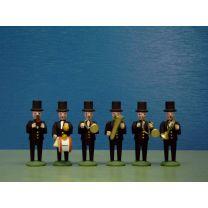 Seiffener Miniaturen - Musikkapelle für Hochzeitszug