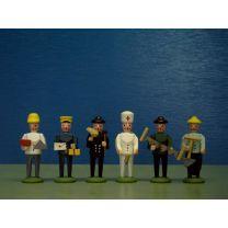 Seiffener Miniaturen - Berufsgruppe