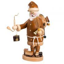 Räuchermann - Weihnachtsmann, natur