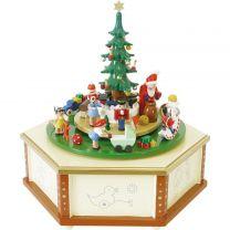 Spieldose - Weihnachtsbescherung