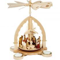 Pyramide - Christi Geburt, helles Gehäuse