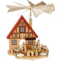 Tischpyramide - Haus Geburt