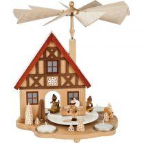 Tischpyramide - Haus Winterkinder