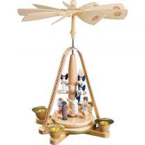 Pyramide - Engeltreppe mit Christi Geburt